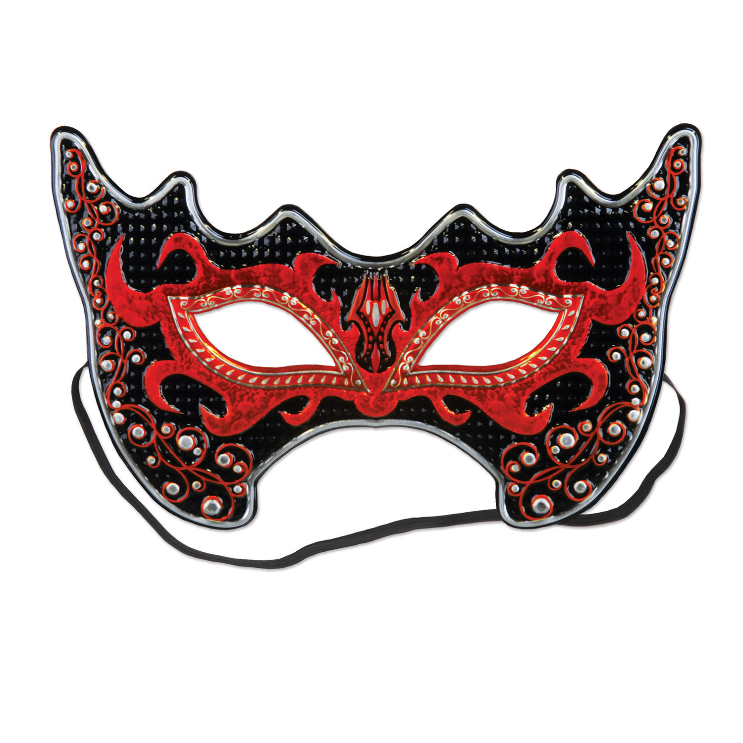 Costume Mask (Pack of 12) Costume Mask., mardi gras, new years eve, masquerade, wholesale, inexpensive, bulk, party favor