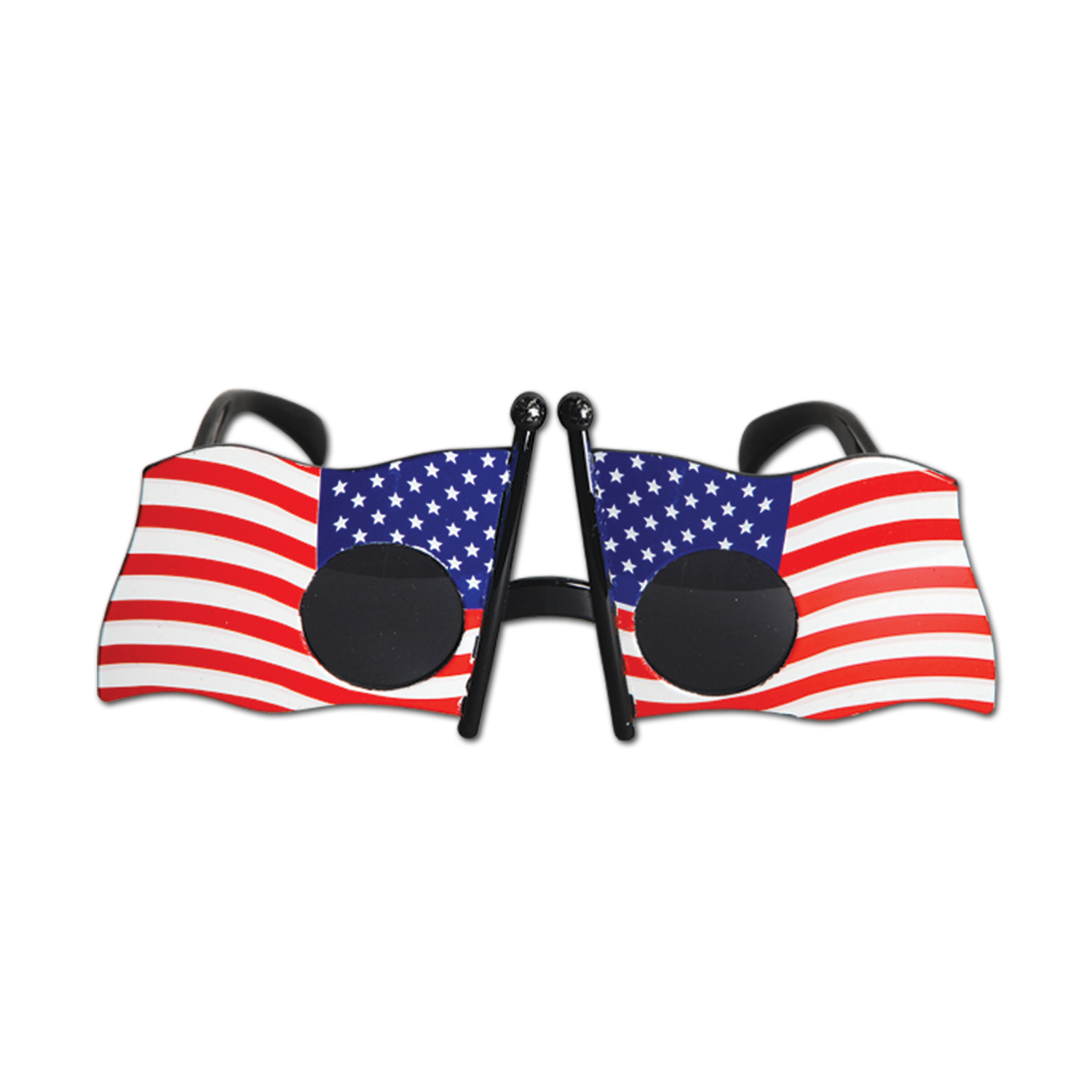Patriotic Fanci-Frames (Pack of 6) Novelty Glasses, Patriotic Fanci-Frames, Red White Blue, Fourth of July, Wholesale party supplies, Cheap novelty glasses, Inexpensive party favors