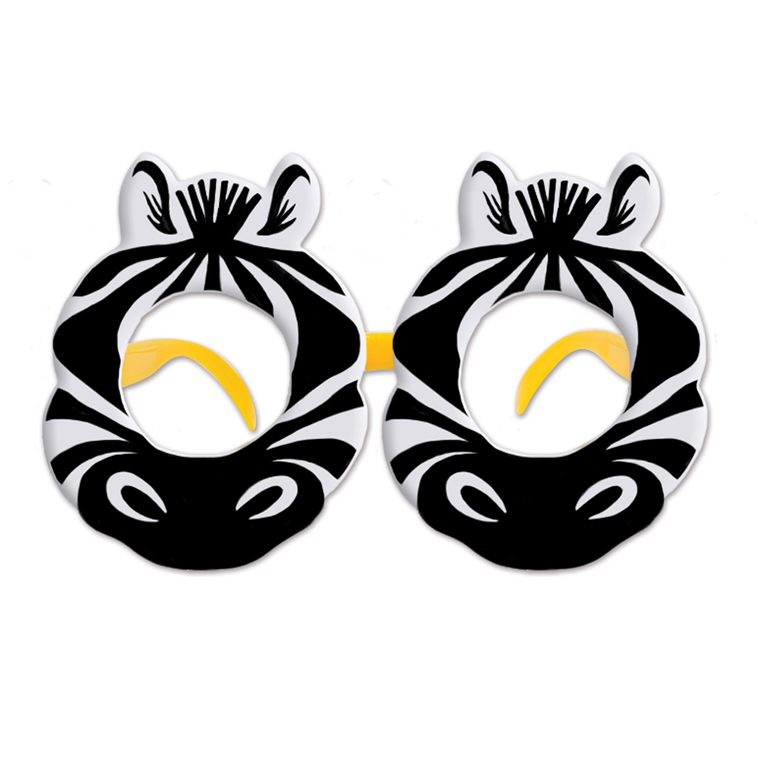 Zebra Glasses (Pack of 12) Zebra Glasses, party favor, luau, new years eve, wholesale, inexpensive, bulk