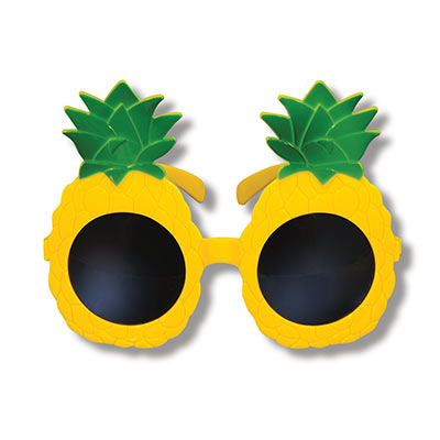 Pineapple Glasses (Pack of 6)  Pineapple Glasses, pineapple, glasses, party favor, wholesale, inexpensive, bulk, luau
