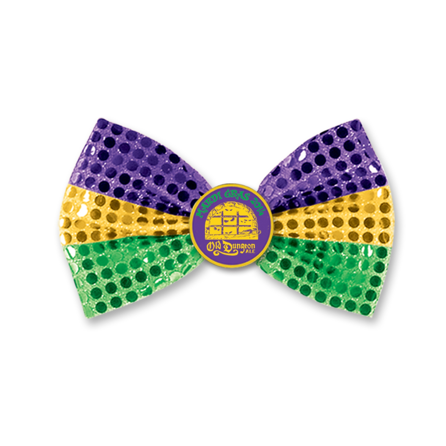 Custom Mardi Gras Glitz N Gleam Bow Tie Custom Mardi Gras Glitz N Gleam Bow Tie, custom, mardi gras, bow tie, party favor, green, gold, purple, wholesale, inexpensive, bulk