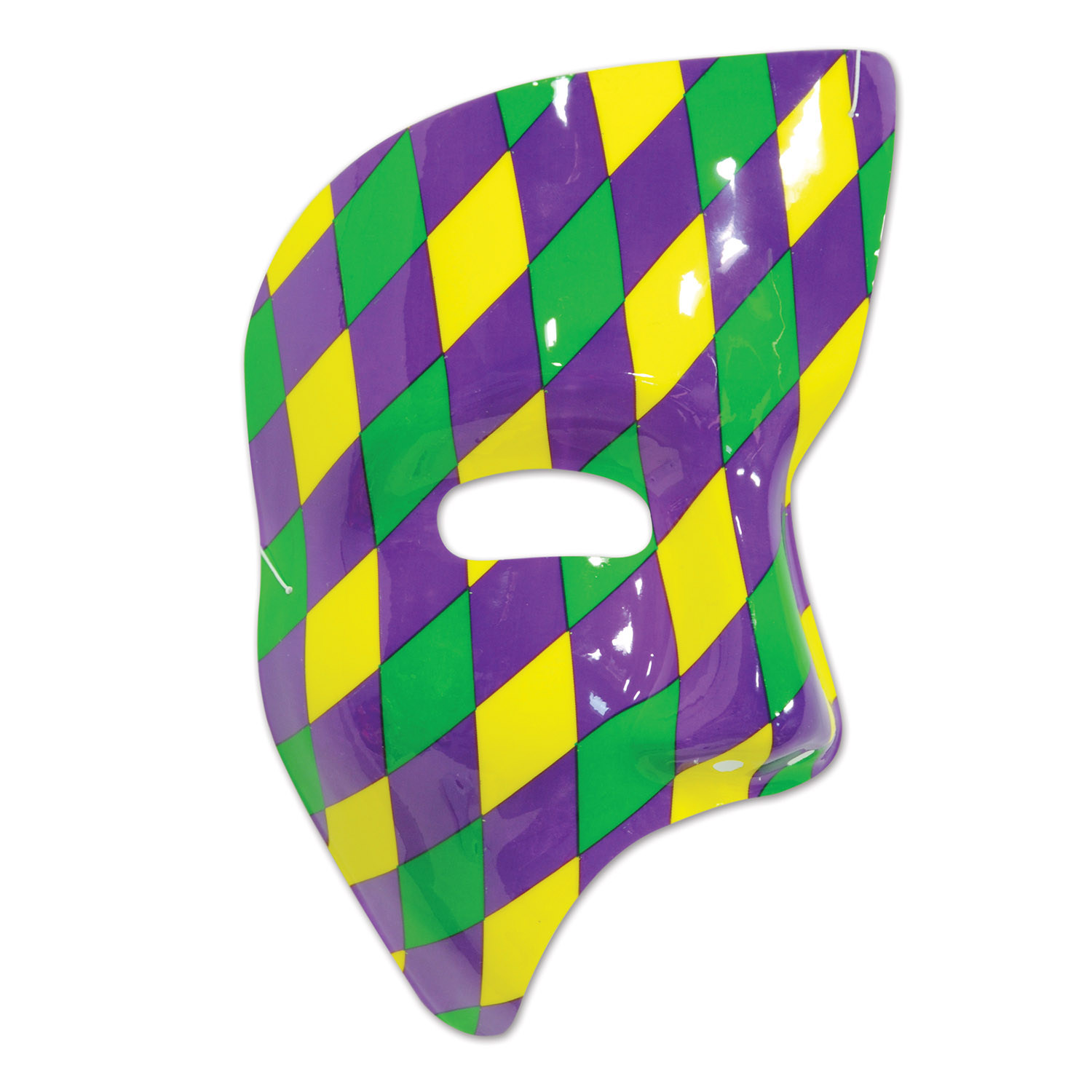 Phantom Mask (Pack of 24) Phantom Mask, Harlequin Design, Mardi Gras ideas, Green Purple Yellow, Plastic Mask, Novelty party favors, Fat Tuesday wearables, Half Mask, New Years Eve, Cheap Party supplies, Inexpensive half mask