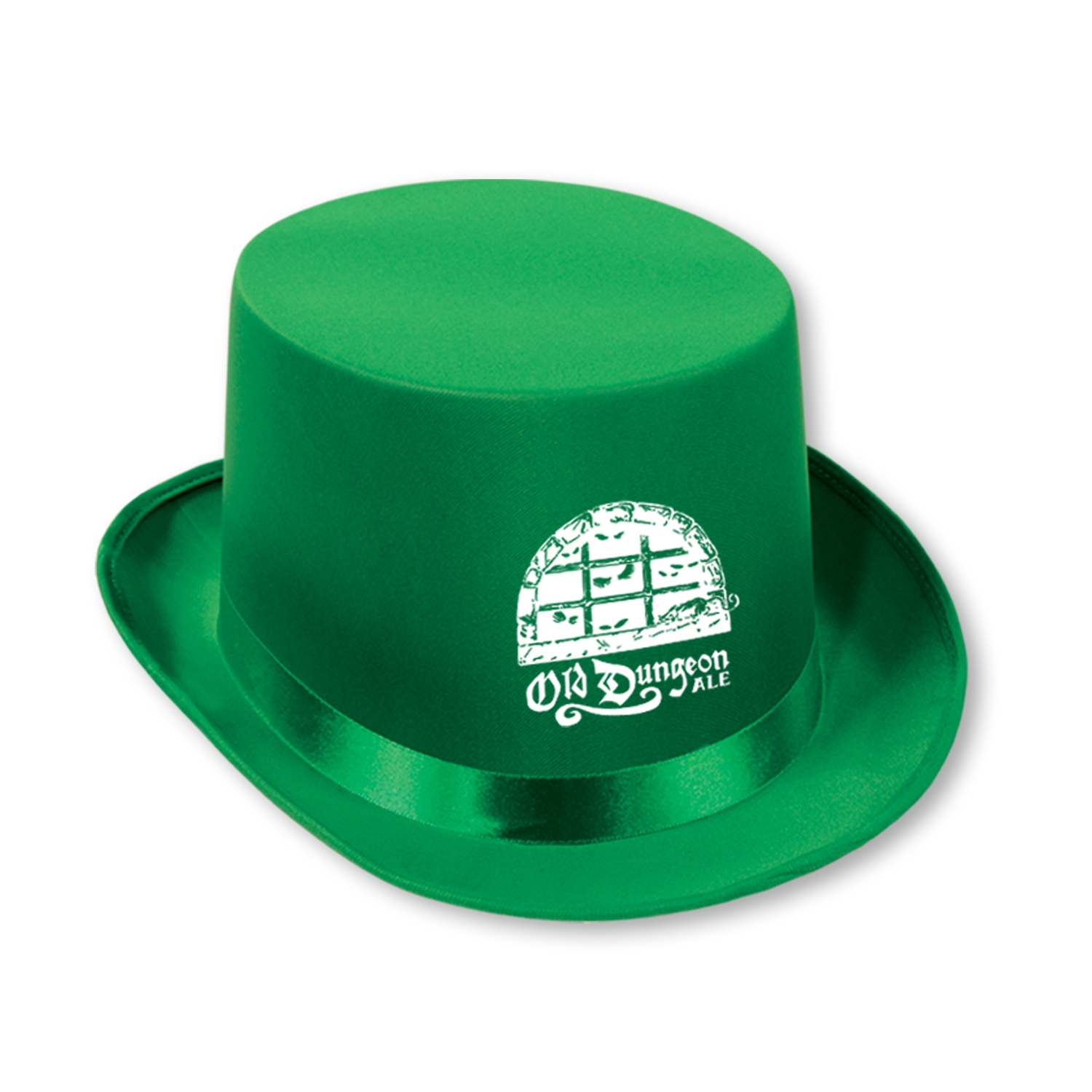 Custom Imprinted Satin Sleek Topper Custom Imprinted Satin Sleek Topper, custom, topper, hat, party favor, new years eve, st. patricks day, wholesale, inexpensive, bulk