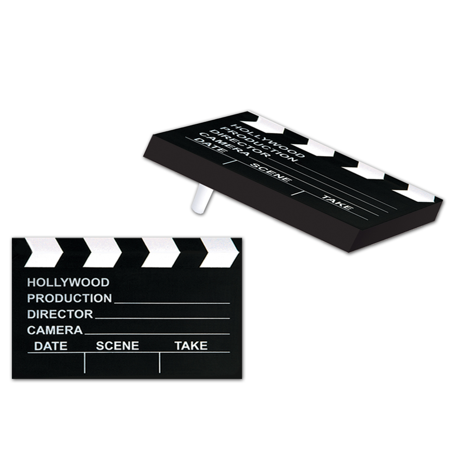 Clapboard Racket Raise N Noisemaker (Pack of 50) Clapboard Racket Raise N Noisemaker, party favor, new years eve, hollywood, wholesale, inexpensive, bulk