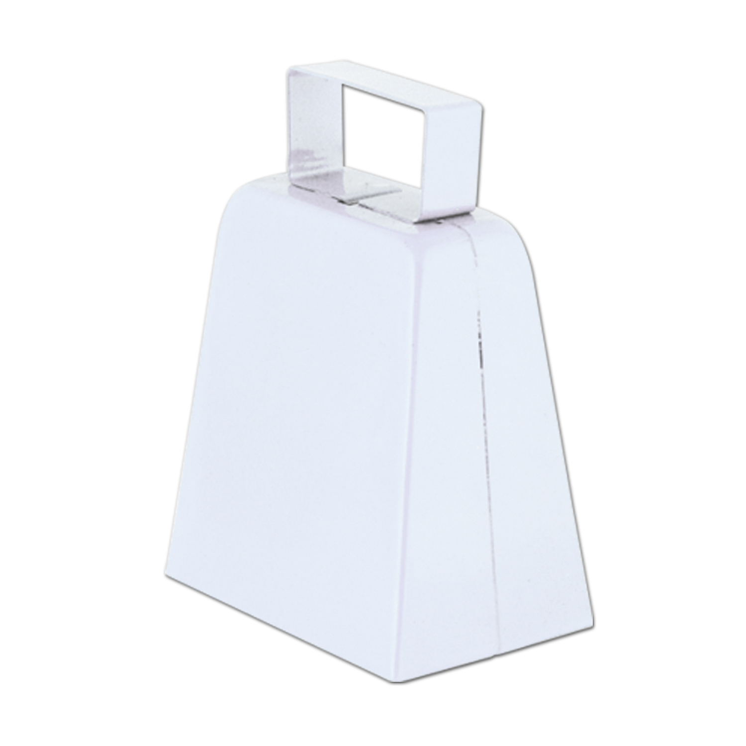 Cowbells (Pack of 12) white, cowbell, football, basketball, new years eve, party favor, wholesale, inexpensive, bulk