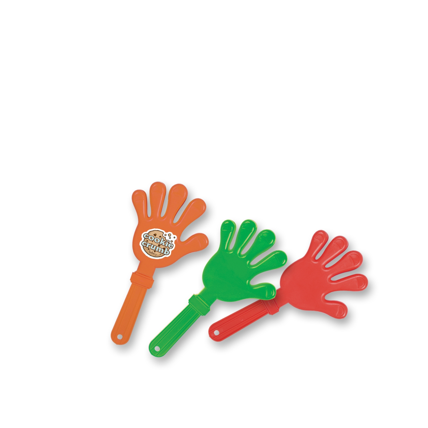 "7 1/2"" Imprinted Hand Clappers  ."