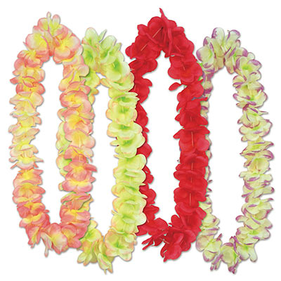 Aloha floral leis made of gorgeous petals.
