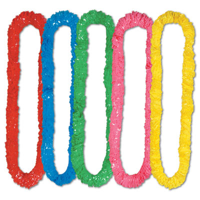 Soft-Twist Poly Leis Poly leis, Inexpensive leis, Assorted Color leis, Luau party favors, Cheap luau accessories, Wholesale luau supplies, New Years Eve