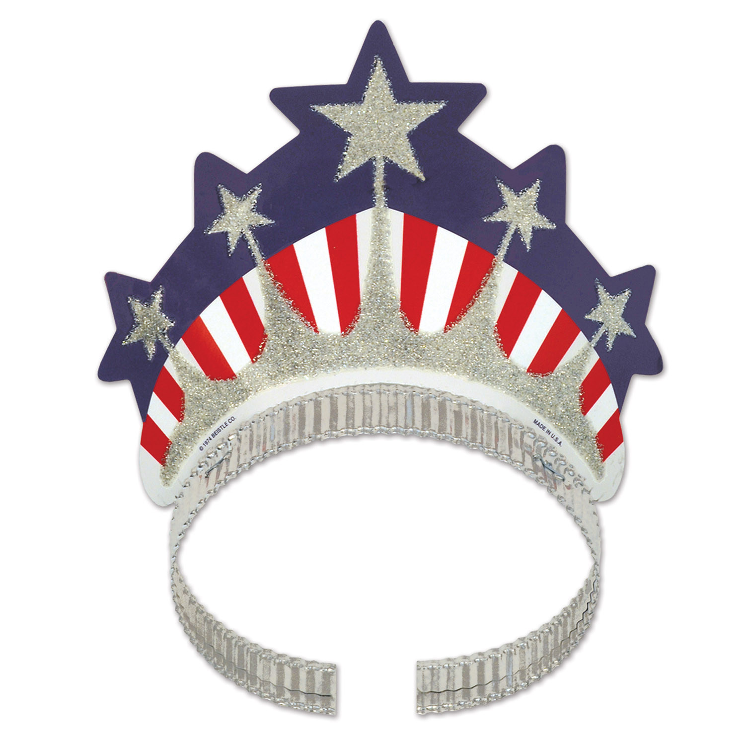 Miss Liberty Tiara (Pack of 72) .