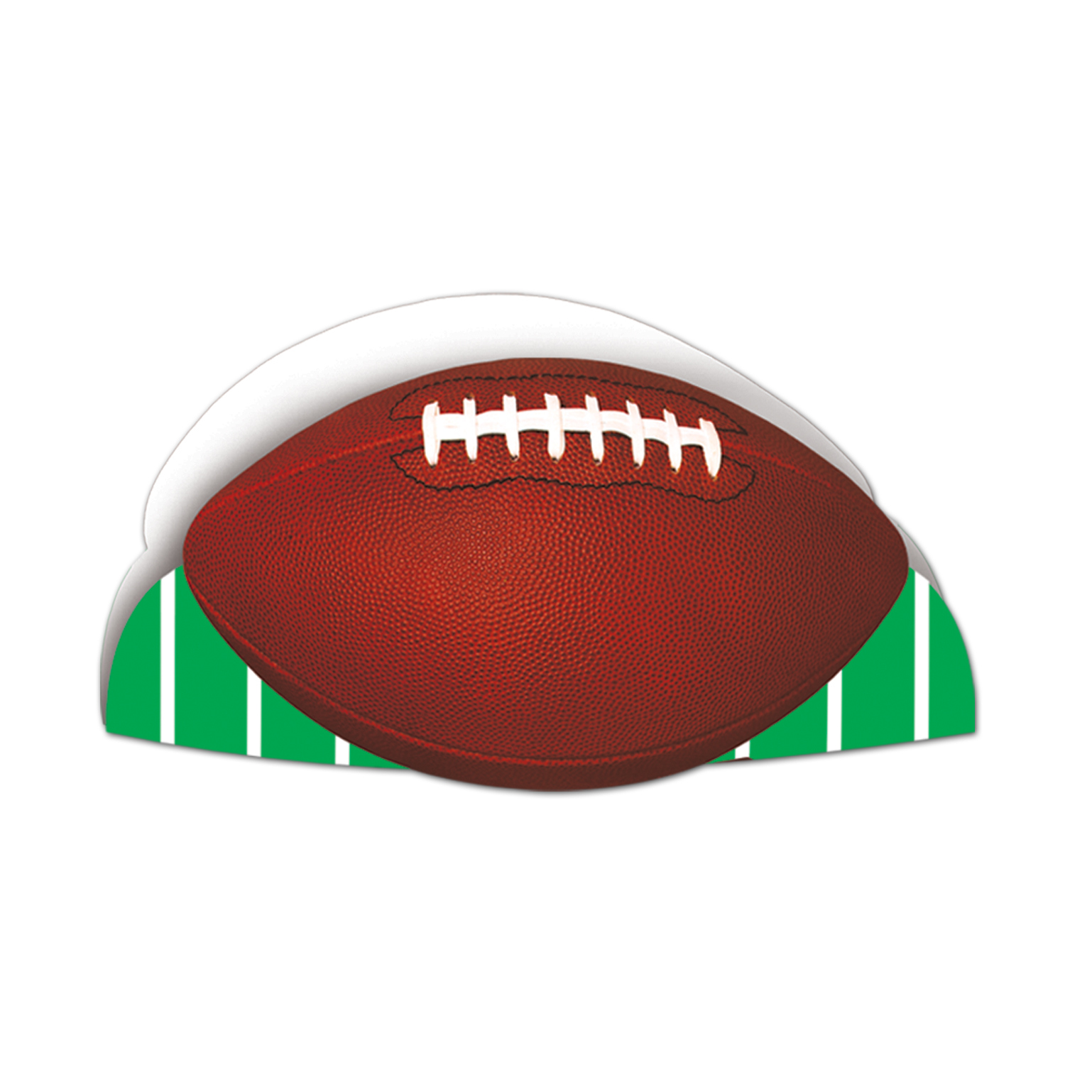 Printed Football Hat (Pack of 48) Printed Football Hat, big game, football, party favor, wholesale, inexpensive, bulk