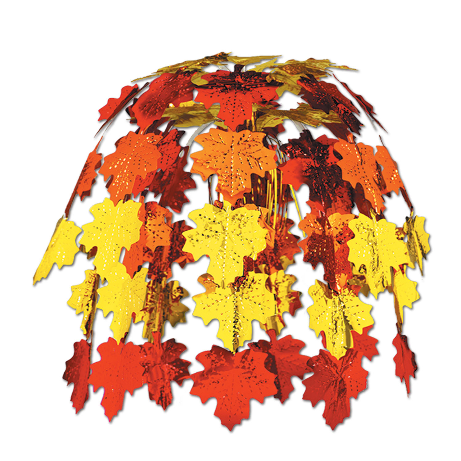 Fall Leaves Cascade (Pack of 12) Fall Leaves Cascade, thanksgiving, leaves, fall, ceiling decoration, wholesale, inexpensive, bulk