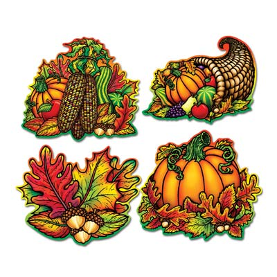 Autumn Splendor Cutouts (Pack of 48)