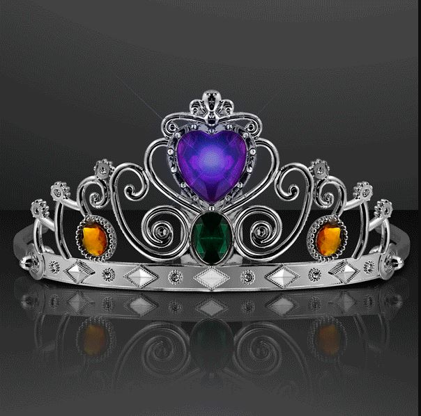 Blinking Heart Princess Crown Tiara. This Blinking Heart Princess Tiara will show everyone who is the fairest of them all.