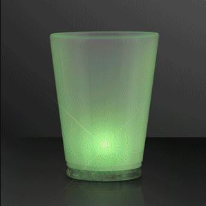 LED Chill Lights Cool Shot Glasses for a New Years Eve Party