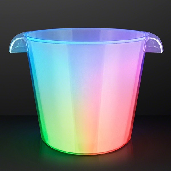 Light up Ice Buckets (Pack of 1) Light up ice buckets, 6 pack, cooler, ice, champagne toast, New Years Eve, 4th of July, Patriotic, Wholesale party supplies, Inexpensive party supplies, Bulk, Drinkware, Table ware