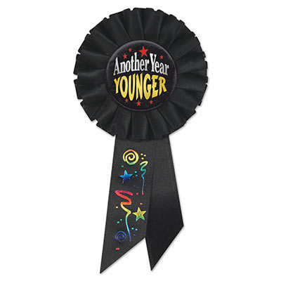Another Year Younger Rosette (Pack of 6)