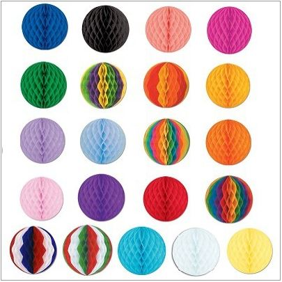 "12"" Tissue Ball (select a Color)"